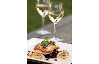 Gourmet food plate