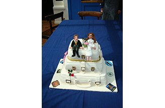 funky wedding cakes david and s funky wedding cake 14531