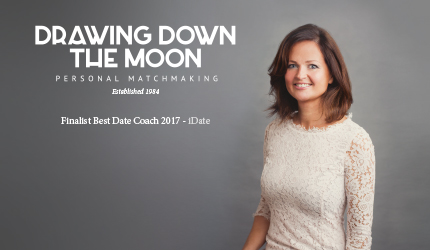 Matchmaker Abi Jude of Drawing Down the Moon Top London Matchmaking Company