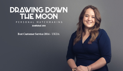 Matchmaker Lizzee Fearnley of Drawing Down the Moon Top London Matchmaking Company